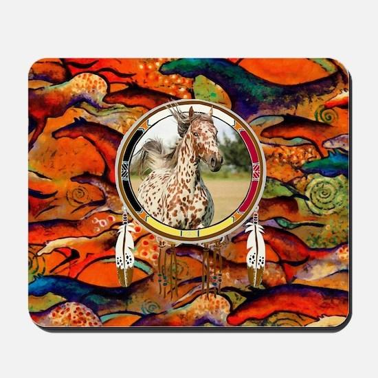 Appaloosa Horse Shield Mousepad
