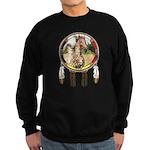 Appaloosa Horse Shield Sweatshirt (dark)