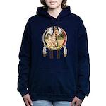 Appaloosa Horse Shield Women's Hooded Sweatshirt