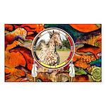 Appaloosa Horse Shield Sticker (Rectangle)