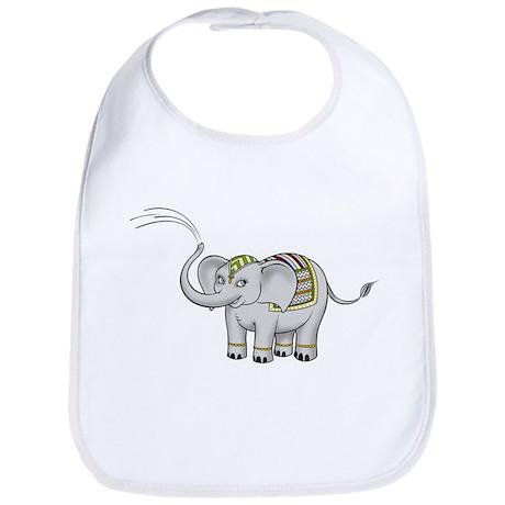 India Elephant Bib