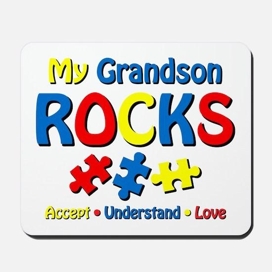 Autistic Grandson Rocks Mousepad
