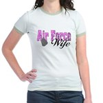 Air Force Wife Jr. Ringer T-Shirt