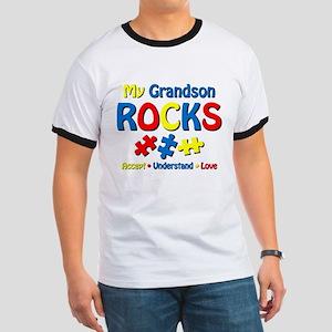 Autistic Grandson Rocks Ringer T