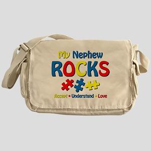 Autistic Nephew Rocks Messenger Bag
