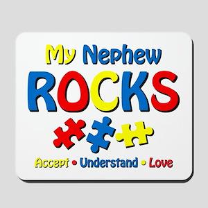 Autistic Nephew Rocks Mousepad
