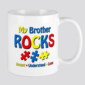 Autistic Brother Rocks Mug
