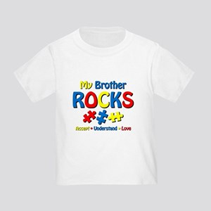 Autistic Brother Rocks Toddler T-Shirt