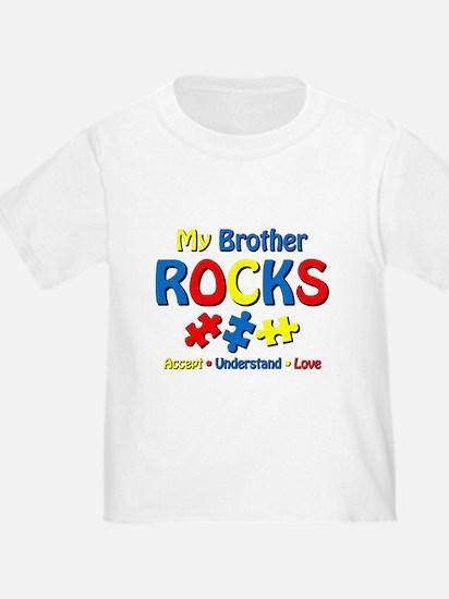 Autistic Brother Rocks T