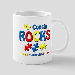Autistic Cousin Rocks Mug