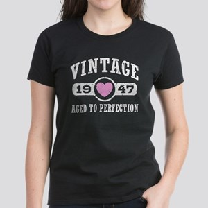 Vintage 1947 Women's Dark T-Shirt