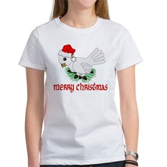 Santa Bird Women's T-Shirt