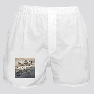 Your Holy Cross Boxer Shorts