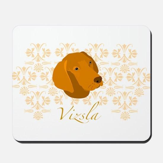 Vizsla Dog Pattern Mousepad