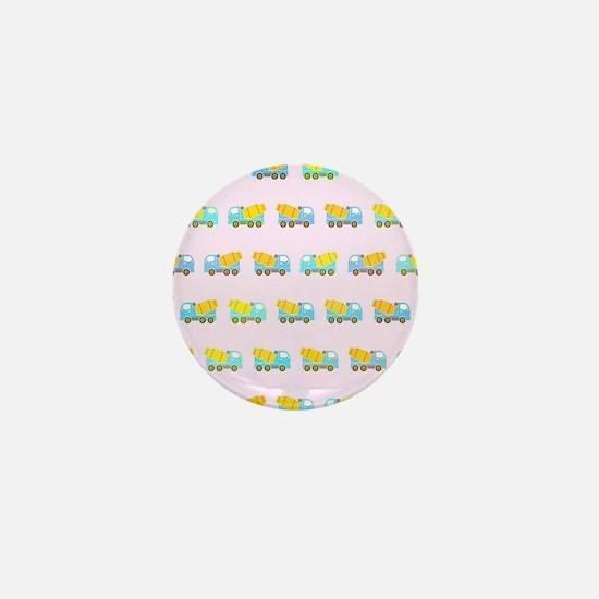 Toy truck pattern Mini Button