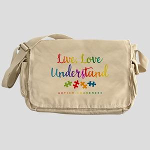 Live Love Understand Messenger Bag
