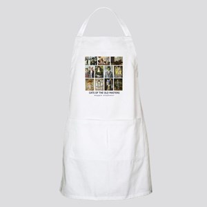 Cats of the Old Masters BBQ Apron