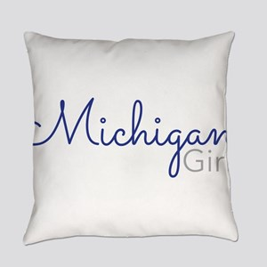 Michigan Girl Everyday Pillow