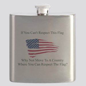 Respect The Flag Flask