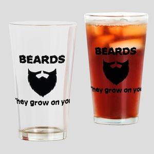 Beards Drinking Glass