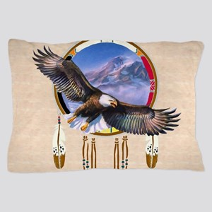 Flying Eagle Shield Pillow Case