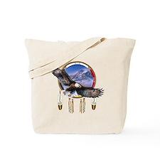 Flying Eagle Shield Tote Bag