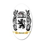 Reitzel 20x12 Oval Wall Decal