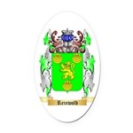 Reinwold Oval Car Magnet