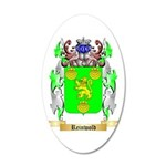 Reinwold 20x12 Oval Wall Decal