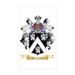Reinmann Sticker (Rectangle 50 pk)