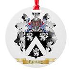 Reinking Round Ornament