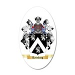 Reinking 20x12 Oval Wall Decal