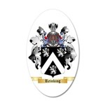 Reinking 35x21 Oval Wall Decal