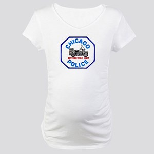 Chicago PD Motor Unit Maternity T-Shirt