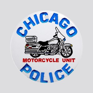 Chicago PD Motor Unit Ornament (Round)