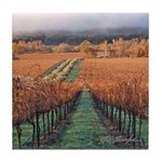Wine Country Set Tile Coaster
