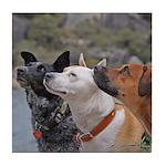 Dogs Tile Coaster