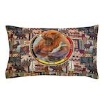 Fishing Bear Shield Pillow Case
