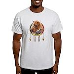 Fishing Bear Shield Light T-Shirt