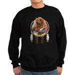 Fishing Bear Shield Sweatshirt (dark)