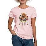 Fishing Bear Shield Women's Light T-Shirt