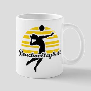 Beachvolleyball Mug