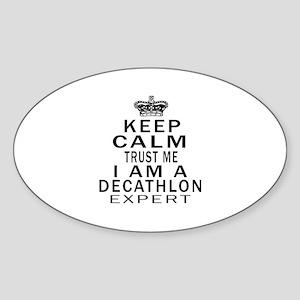 Decathlon Expert Designs Sticker (Oval)