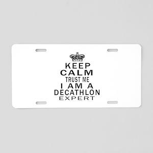 Decathlon Expert Designs Aluminum License Plate