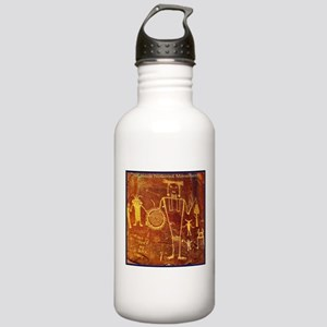 Ancient Drawings Water Bottle