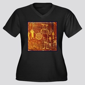Ancient Drawings Plus Size T-Shirt
