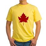 Canada Anthem Souvenir Yellow T-Shirt