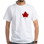 Canada Anthem Souvenir White T-Shirt