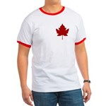 Canada Anthem Souvenir Ringer T-shirt