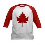 Canada Anthem Souvenir Kids Baseball Jersey